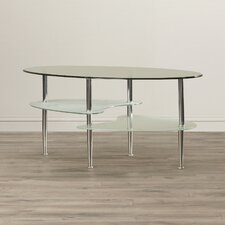 Jean Glass Oval Coffee Table