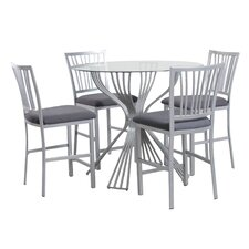 Waverly 5 Piece Counter Height Dining Set