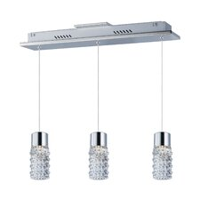 Lucea 3 Light LED Pendant