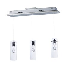 Miami-Dade 3 Light LED Pendant