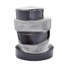 Brooklet Stacked Ovals End Table