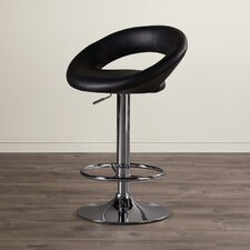 Quinton Adjustable Height Swivel Bar Stool