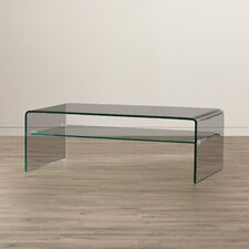 Pansy Glass Coffee Table