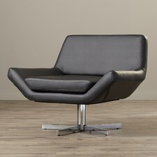 Matt Swivel Arm Chair