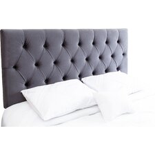 Rich Upholstered Panel Headboard