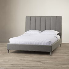 Bay Upholstered Panel Bed