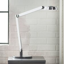 "Modern Disc Task LED 20"" H Table Lamp"