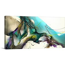 Trust the Flow by Jonas Gerard Print of Painting on Wrapped Canvas