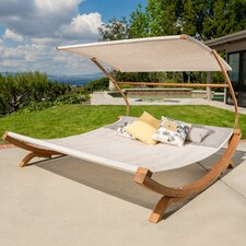 Friendship Harbor Double Chaise Lounge with Cushion
