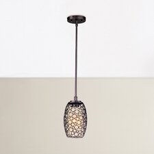 Stefano 1 Light Bliss Mini Pendant