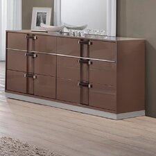 Central East 6 Drawer Dresser