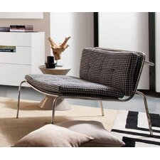 Rodolfo Modern Fabric Lounge Chair