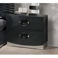 Parksley 2 Drawer Nightstand