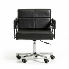 Wesley Low-Back Office Chair with Arms