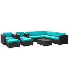 Buckhall 10 Piece Seating Group with Cushion