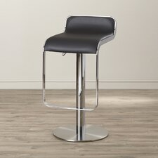 Landen Adjustable Height Swivel Bar Stool