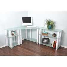 Hector Corner Corner Computer Desk with Left and Right Extension Table