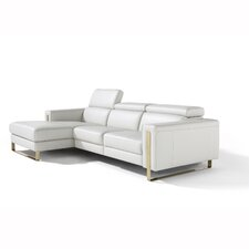 Theo Leather Reclining Sofa