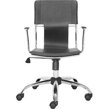 Landin Office Chair with PVC Seat and Back