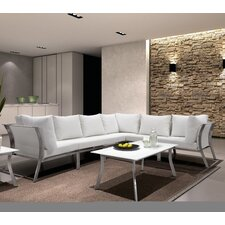 Kent 3 Piece Deep Seating Group with Cushion