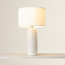 "Dorothy 24.5"" H Table Lamp with Drum Shade"