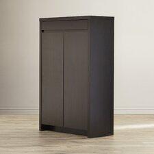 Wilmot 15-Pair Shoe Storage Cabinet