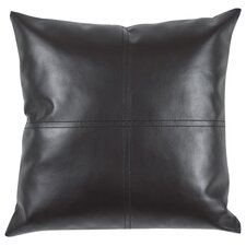 Rockledge Fun Faux Leather Throw Pillow