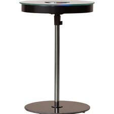 Keagan End Table with LED Light
