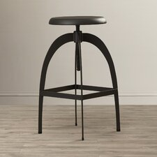 Enzo Adjustable Height Swivel Bar Stool
