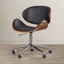 Enzo Mid-Back Leather Office Chair