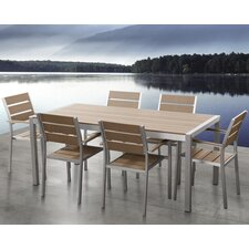 Bret 7 Piece Dining Set