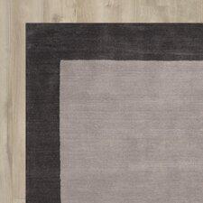 Kaufman Hand-Tufted Charcoal Area Rug