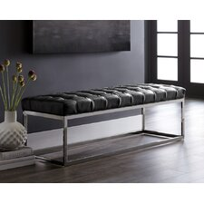 Alexander Leather Bench