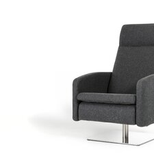 Rodolfo Modern Fabric Reclining Lounge Chair