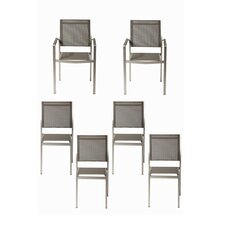 James 6 Piece Dining Chair Set