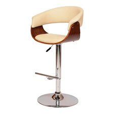 March Adjustable Height Swivel Bar Stool