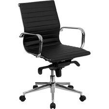 Cruz Mid-Back Leather Conference Chair