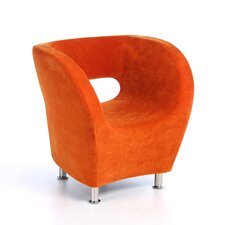Colt Microfiber Modern Club Chair