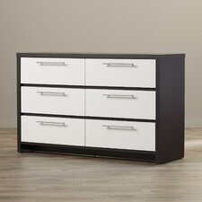 Sinclair 6 Drawer Dresser