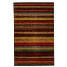 Lucent Brown/Yellow Area Rug
