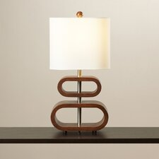 "Dobbsland 19.5"" H Table Lamp with Drum Shade"