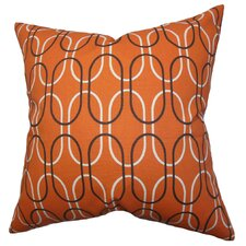 Corrstown Geometric Cotton Throw Pillow