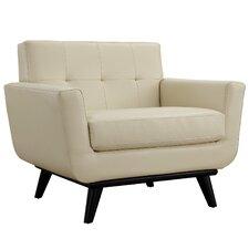 Saginaw Leather Arm Chair