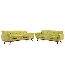 Saginaw Loveseat and Sofa Set