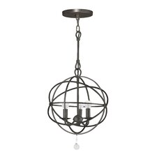 Knoxville 3 Light Mini Foyer Pendant
