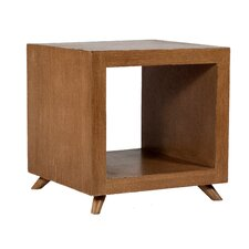 Poppy Cubic End Table