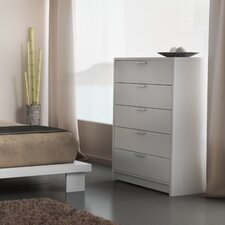 Miami 5 Drawer Chest