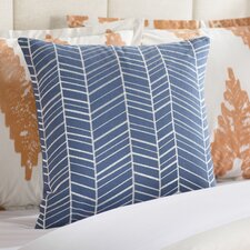 Asther Embroidered Cotton Pillow Cover