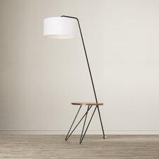 """Racavan Stork 70"""" H Arched Floor Lamp"""