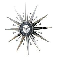 "Oversized 23.5"" Telechron Starburst Wall Clock"